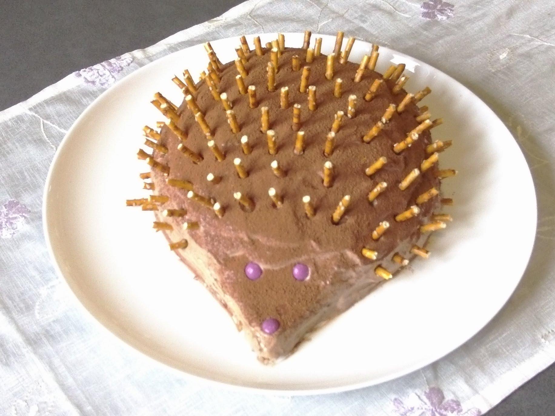 Рецепт торта ежик без выпечки