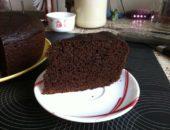 Бисквит «шоколад на кипятке» рецепт