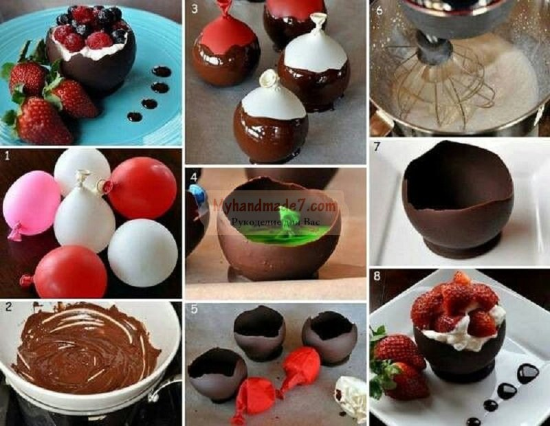 Шоколад своими руками