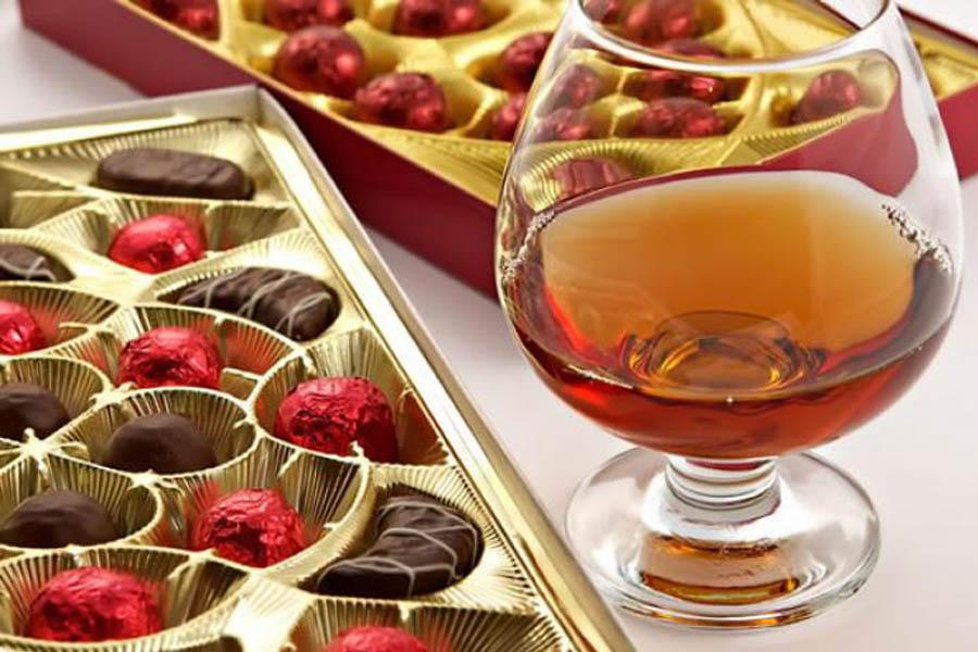 Что закусывают шоколадом?