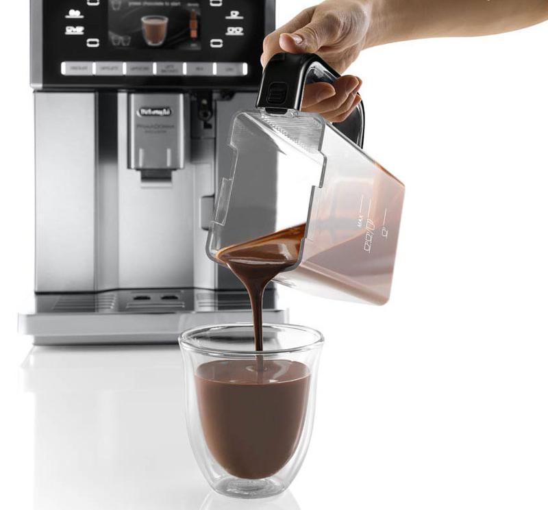 Кофемашины с функцией горячий шоколад (обзор)