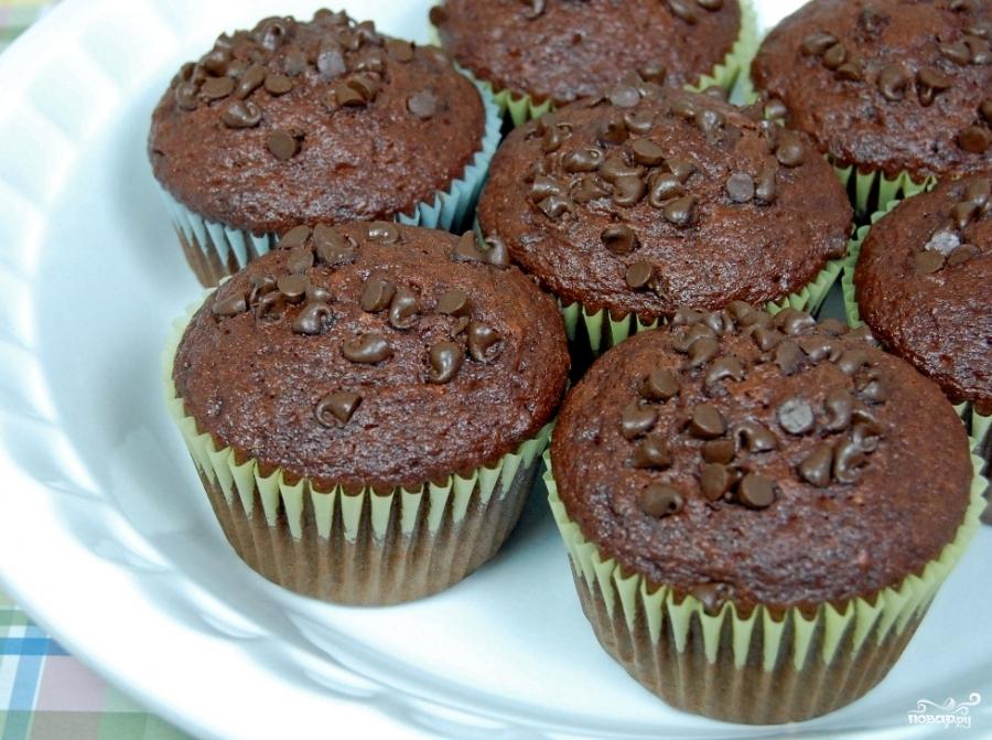 Маффины с шоколадом рецепт