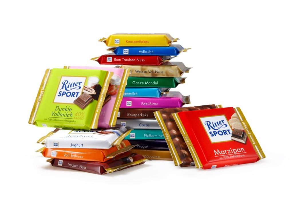 История Немецкого шоколад