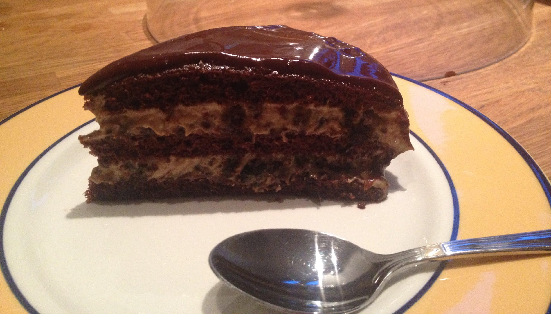 Торт с орехами и черносливом рецепт пошагово