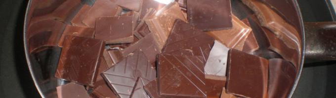 Как растопить шоколад?