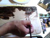Рисование шоколадом или шоколадная живопись