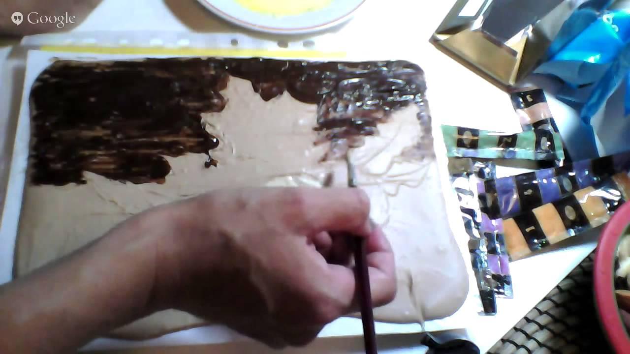 Как сделать картину из шоколада видео