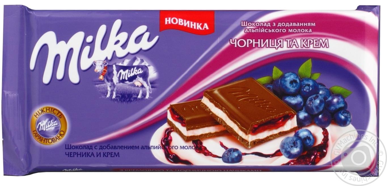 Шоколад Милка (Milka)