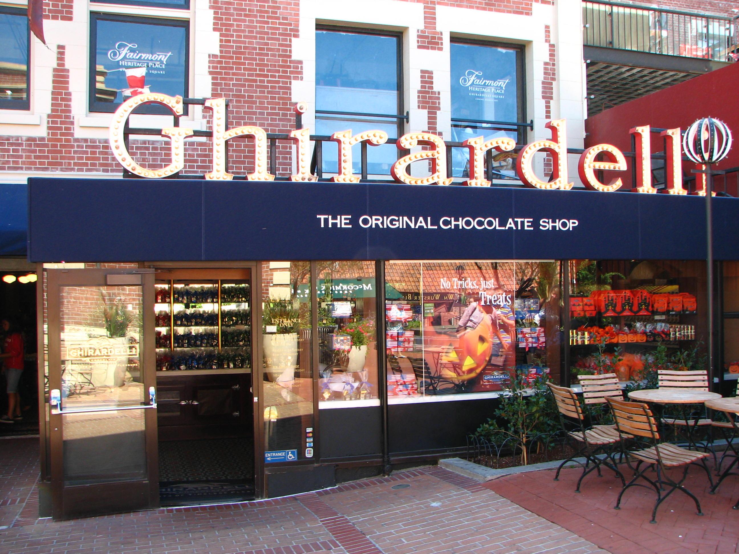 Шоколад Ghirardelli (Жирарделли)