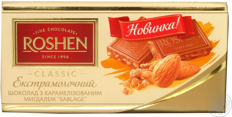 Шоколад Рошен (Roshen)