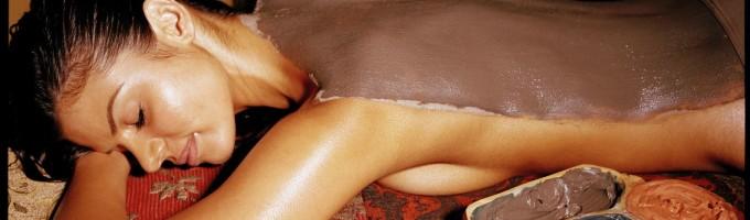 Шоколадное обертывание в салоне