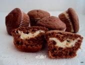 Кекс с шоколадом внутри рецепт