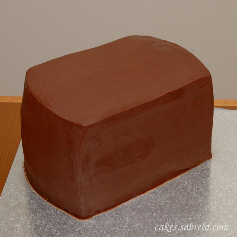 Шоколадный ганаш под мастику рецепт