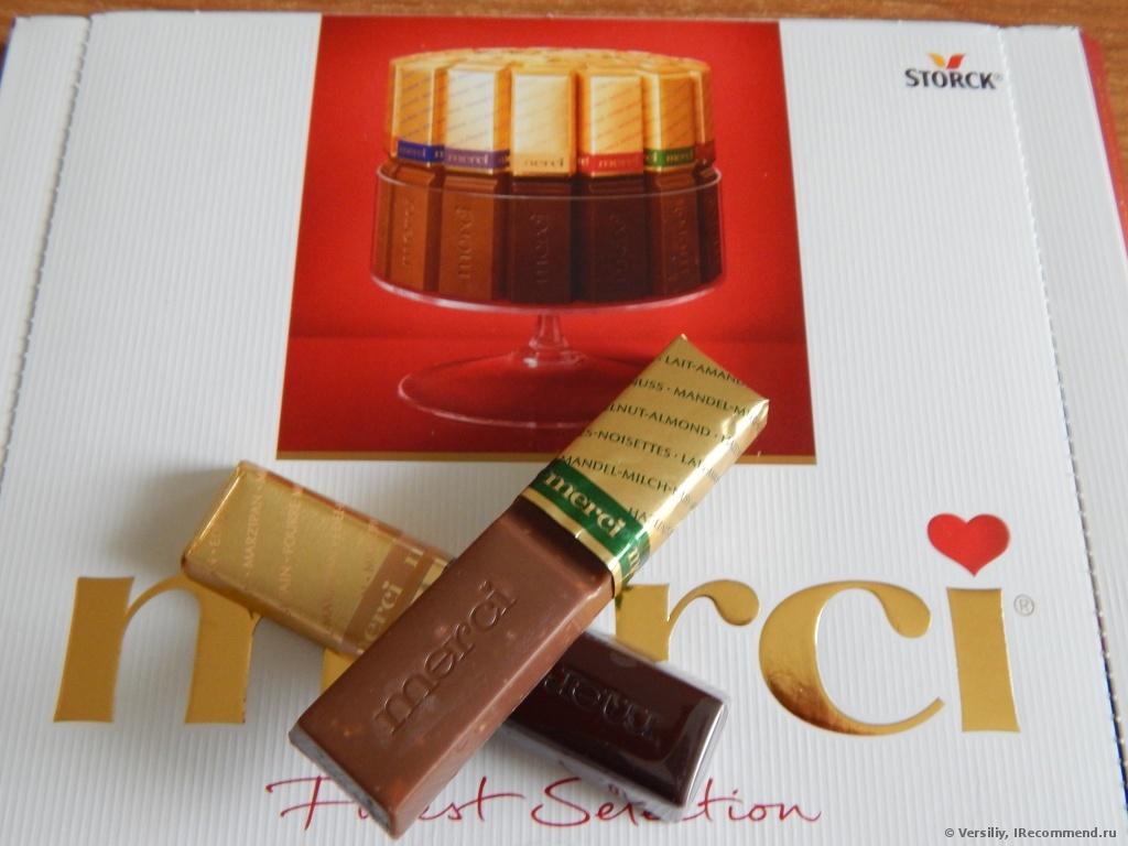 Шоколад Merci (Мерси)
