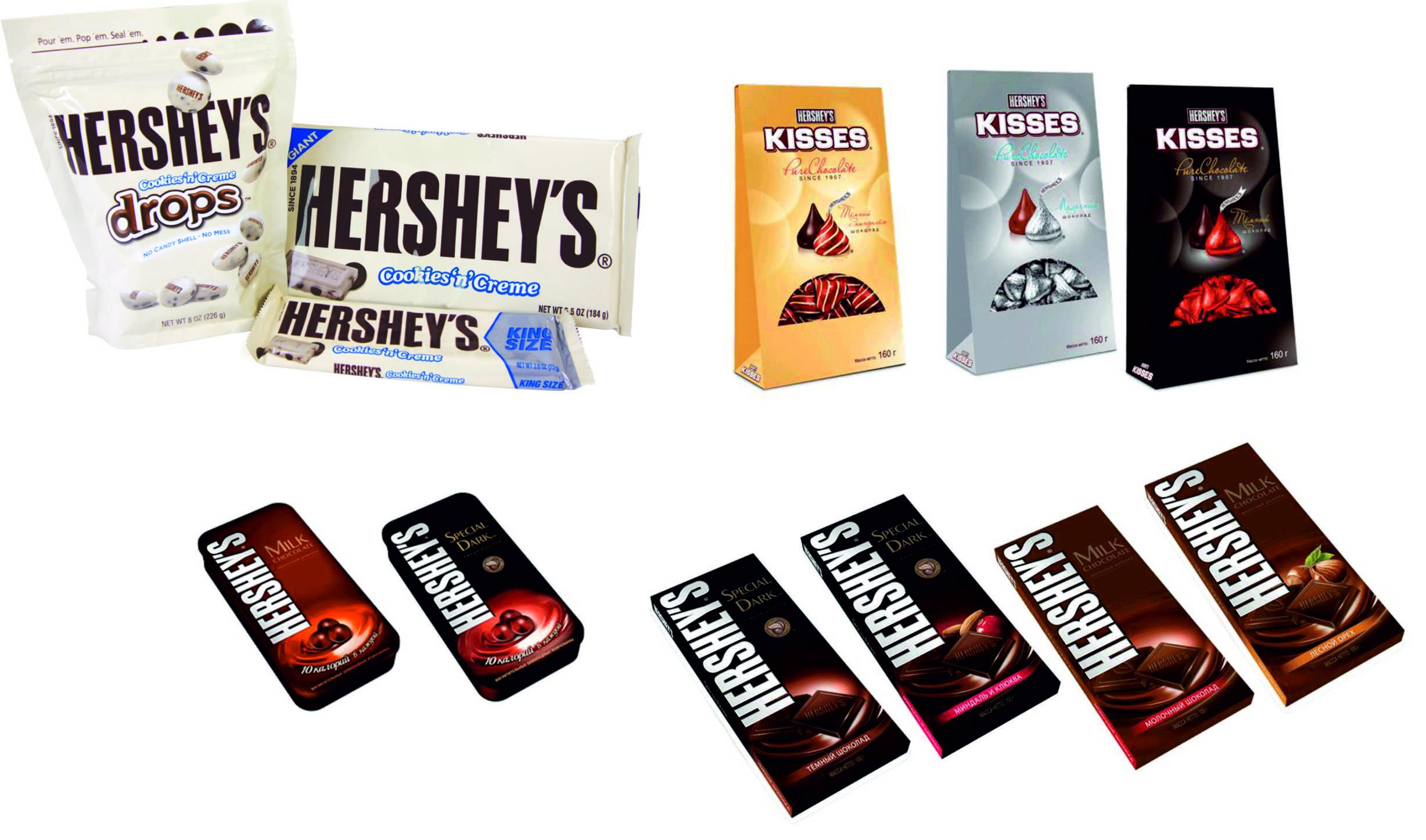 Шоколад Hershey (Херши)