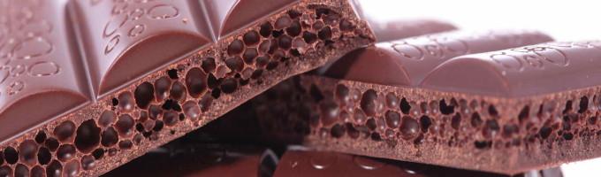 Как делают пористый шоколад?