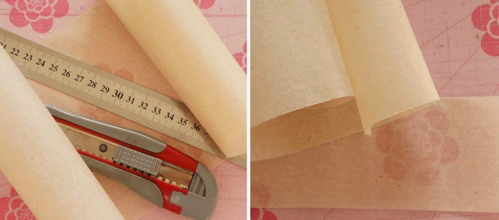 Полоски пергаментной бумаги