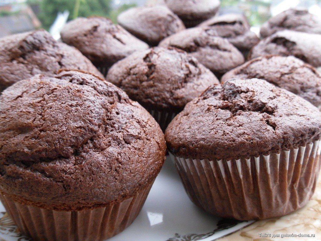 Шоколадные диетические кексы