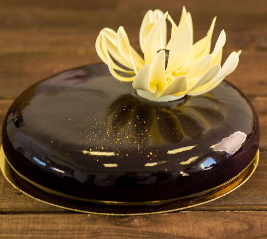 рецепт шоколадной глазури для торта из молочного шоколада