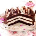 Нежный торт Киндер-ломтик