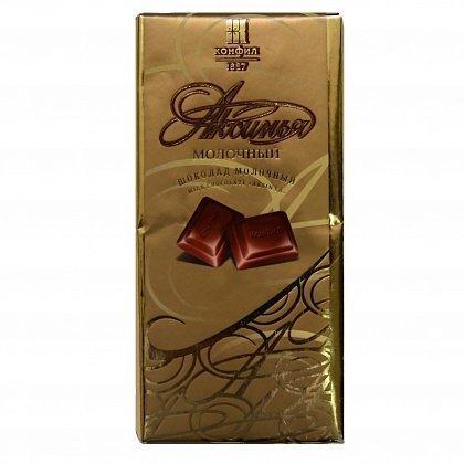 Самый вкусный отечественный молочный шоколад «Аксинья»