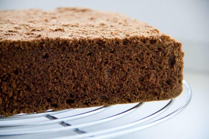 Бисквит для торта Киндер-ломтик