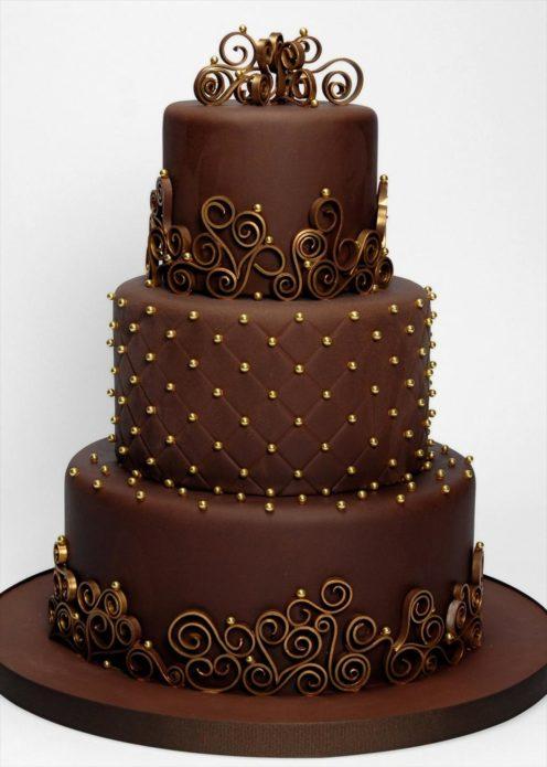 Королевский шоколадный торт