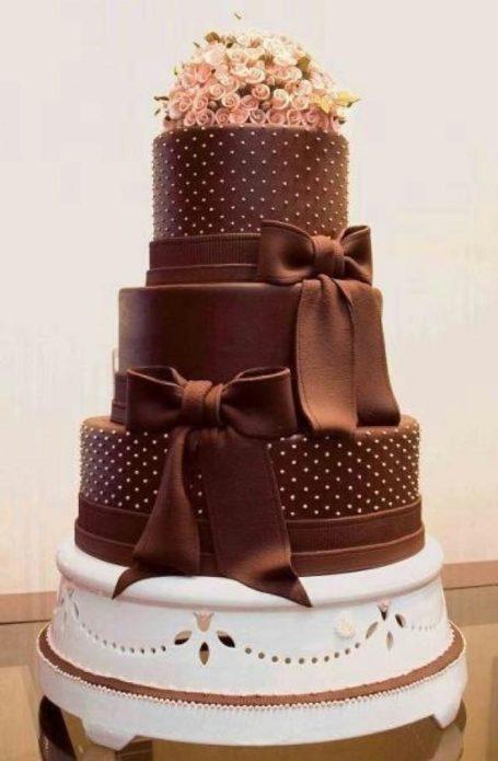 Красиво и очень шоколадно