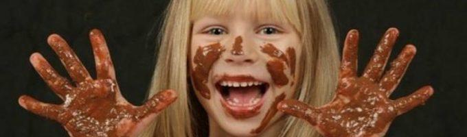 Девочка в шоколаде