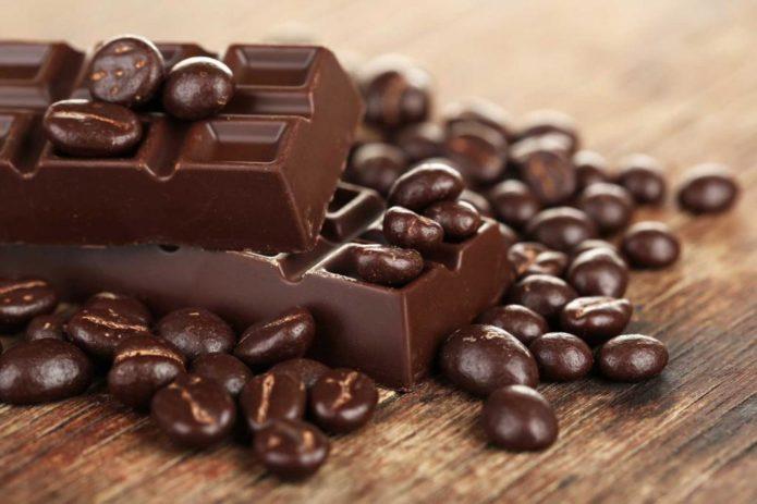 Много горького шоколада