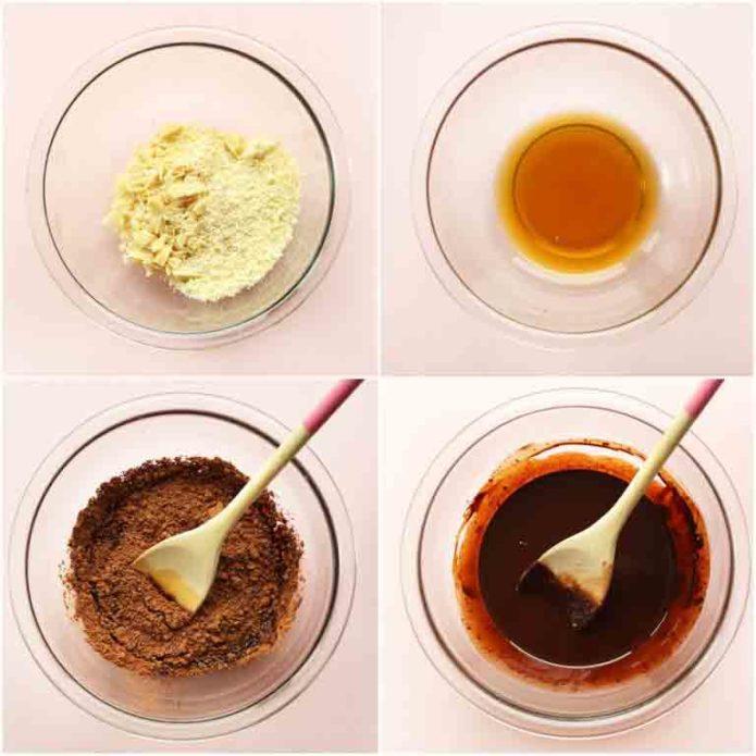 Приготовление шоколада