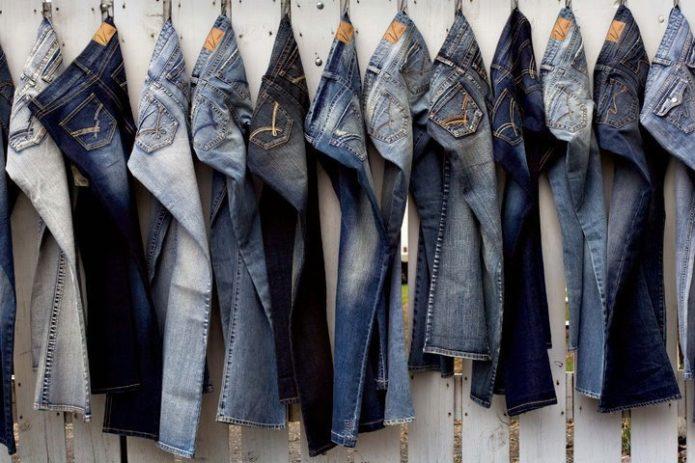 Одежда из джинсы