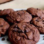 Печенье с шоколадным топпингом