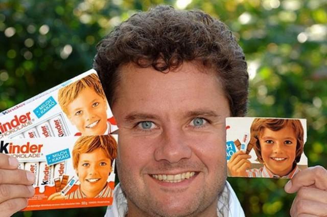 Как сейчас выглядит мальчик с шоколада «Киндер»