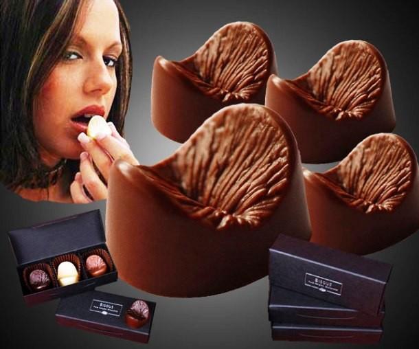 самые безумные фигуры из шоколада