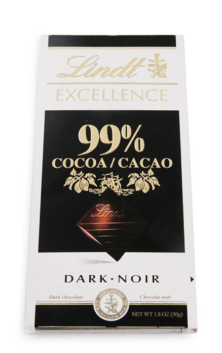 Горький шоколад Lindt