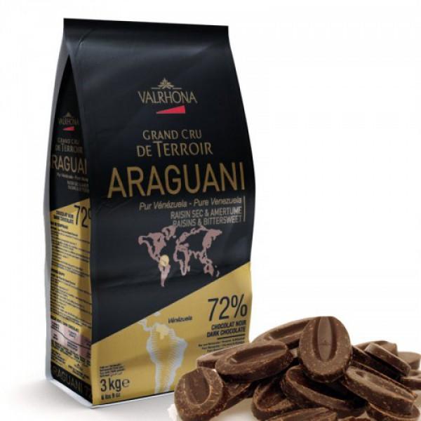 Горький шоколад Valrhona