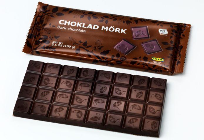 Горький шоколад Choklad Mork