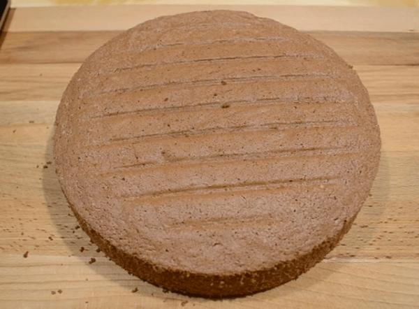 Круглый бисквит