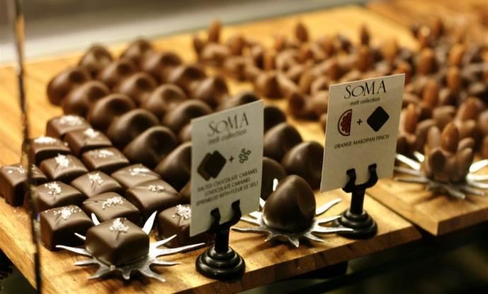 Вкусный шоколад от Soma