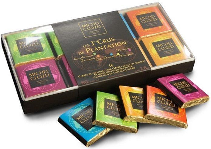 Варианты шоколада от Michel Cluizel