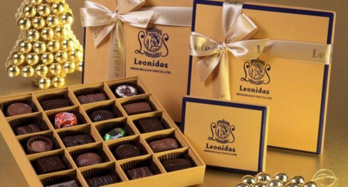 Бельгийские конфеты в подарочной упаковке