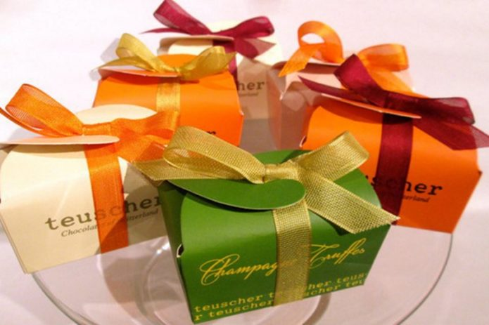Лакомство в подарочной упаковке