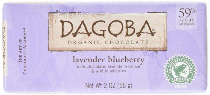 Dagoba lavender blueberry