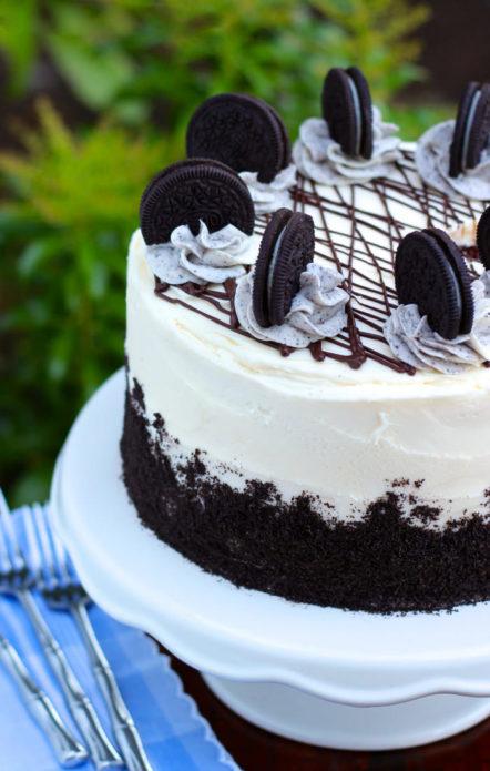 Торт с печеньем «Орео»
