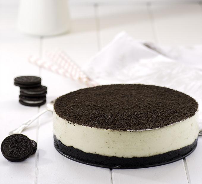 Торт «Орео» без выпечки