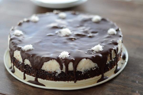Торт «Баунти» с кокосом