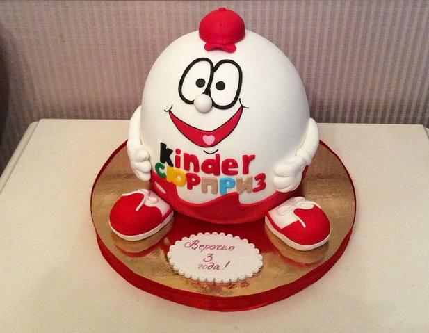 Домашний торт Киндер сюрприз