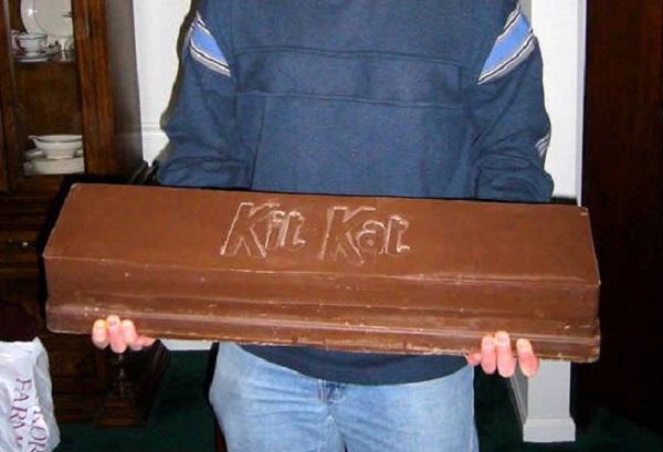 Торт в форме «Кит Кат»