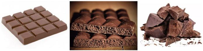 Виды шоколада по структуре